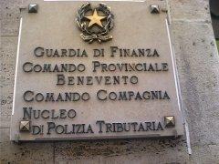 Benevento - La sede della Guardia di Finanza