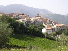 Veduta di Campoli del Monte Taburno
