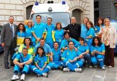 i volontari della Misericordia di Benevento