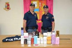Benevento. Polizia, sequestro profumi contraffatti