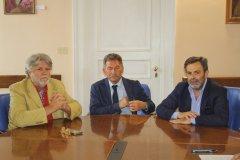 Franco Nardone, Giuseppe Di Cerbo e  Clemente Di Cerbo