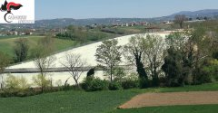 Discarica di Calvi (Benevento) sequestrata dai Carabinieri