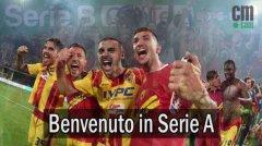 Benevento in Serie A: le immagini e i video di una promozione storica
