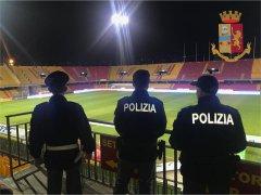 Polizia, Stadio