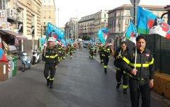 Manifestazione del Conapo a Napoli