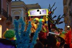 Benevento. Carnevale 2019, i carri per le vie del Corso