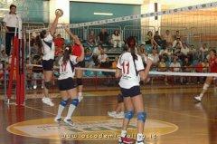 una frazione del match con la SG Volley di San Giorgio del Sannio