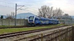 EAV, il nuovo treno. Foto: ilpendolaremagazine.it