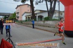 Il vincitore della terza edizione di Contrada Run, Felice Simone