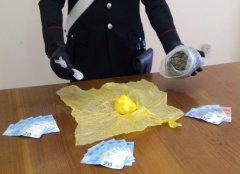 Carabinieri. Sequestro sostanze stupefacenti