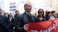 Trattati Roma, nel corteo Europe for all anche Varoufakis e Camusso