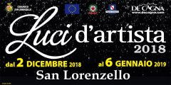 Luci d'Artista 2018 San Lorenzello