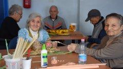 Anziani, ospiti della RSA Donatello di Bonea (BN)