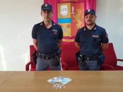 Arresto droga Polizia BN