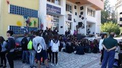 Studenti in protesta al Liceo Artistico