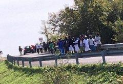 Protesta migranti Pontelandolfo