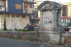 Benevento. Epigrafe sul Ponte di Santa Maria della Libera