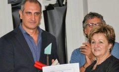 Rillo premiato a Salerno