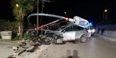 Ford Kuga, incidente a Casali di Faicchio