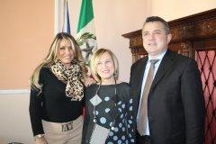 Convitto Nazionale Pietro Giannone. Antonio Di Maria con Marina Rupo e Silvana Quarantiello