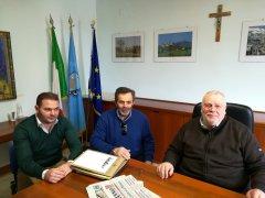 Fondo Valle Isclero. Incontro tra il presidente della Provincia e il sindaco di Dugenta