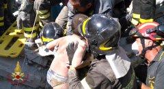 Salvataggio Mattias - Foto Vigili del Fuoco