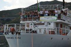 La Giorgio Cini, Nave Ammiraglia della Guardia di Finanza