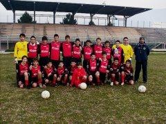La formazione Giovanissimi della Scuola Calcio Valle Telesina