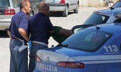 Polizia di Salerno. Arresto (foto di repertorio)