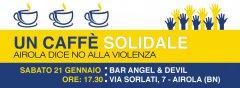 Airola dice no alla violenza con un caffe solidale