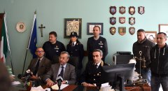 Arresto Paolo Messina jr, conferenza stampa in Procura