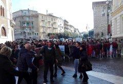 Protesta del Comitatato Viabilitta' Negata