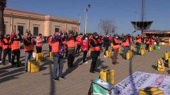 Palermo, sciopero dei rider