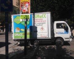 Benevento. Automezzo progetto SMUCC