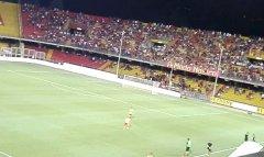 Partita di Coppa italia Benevento Imolese
