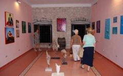 Uno spaccato della mostra allestita a Vinalia