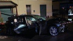 incidente nella notte sulla Statale Appia (17 dicembre 2017)