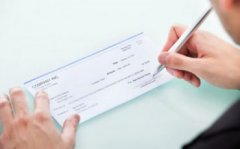 assegno - foto tratta dal web