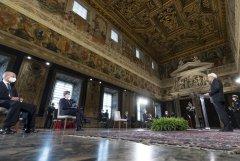Palazzo del Quirinale. Il presidente della Repubblica Sergio Mattarella