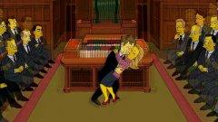 Omaggio dei Simpson a David Bowie e Alan Rickman