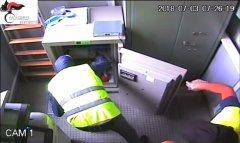 Rapina ufficio postale Airola