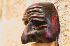 Napoli - La maschera di Pulcinella