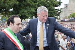 Carmine Valentino e Bill De Blasio