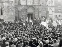 I funerali di Raffaele Delcogliano