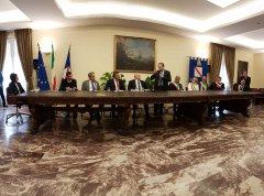 Regione la firma del protocollo