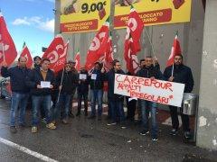 Lavoratori Carrefour