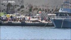 A Malta i migranti della Alan Kurdi