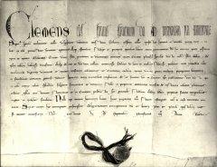 Bolla papale del 1350 sulla nuova Benevento post sisma