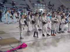 Le atlete del Centro Schermistico Sannita al Trofeo Renzo Nostini