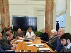 Zaccaria Spina alla riunione Ufficio Presidenza ANPCI